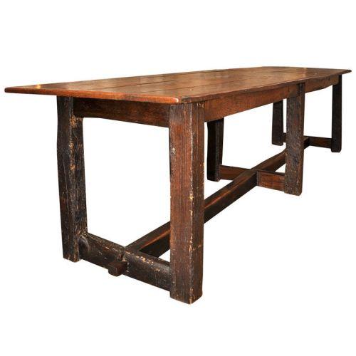 18th Century Oak Table, Double Vision, Abbot Kinney, Venice Beach